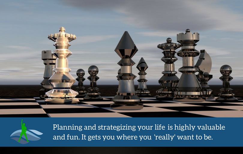 Planning and strategizing your life is highly valuable and fun. It gets you where you  'really' want to be.