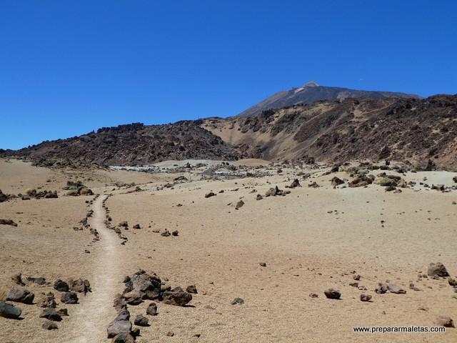senderismo por el Teide
