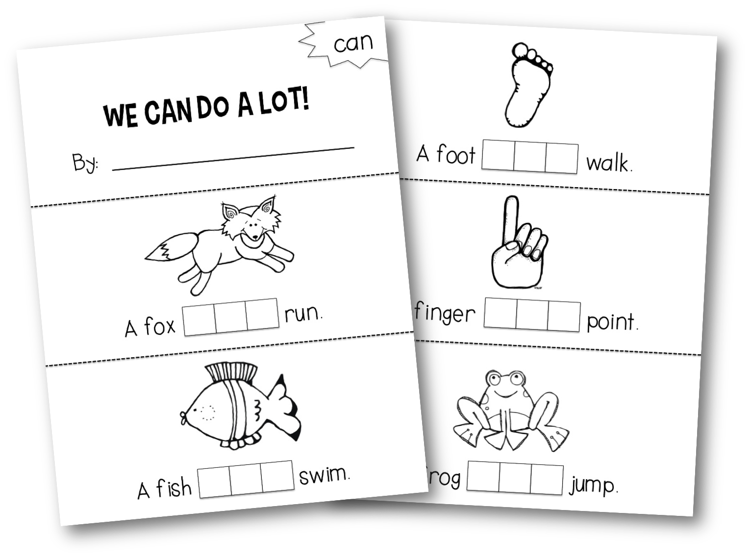 Freebielicious Stamping Sight Words