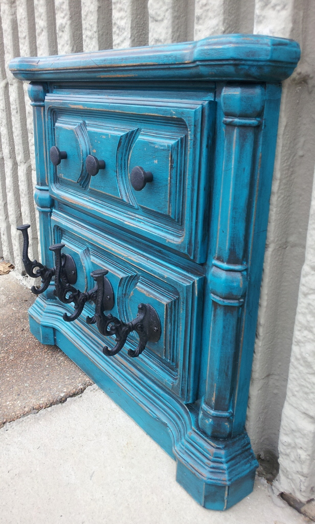 Repurposed Wall Pieces Facelift Furniture