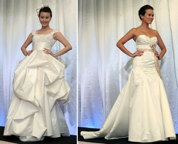 Modelling Carven S Bridal Gowns First Runner Up Of Miss Malaysia World 2008 Cindy Chen