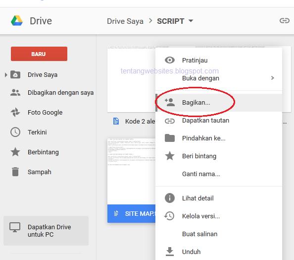 Cara Membuat Link Download Dari Google Drive Komputer Dan Blog