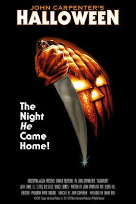 Halloween 40th Anniversary Movie Poster Foil Variant Screen Print by Bob Gleason x Bottleneck Gallery