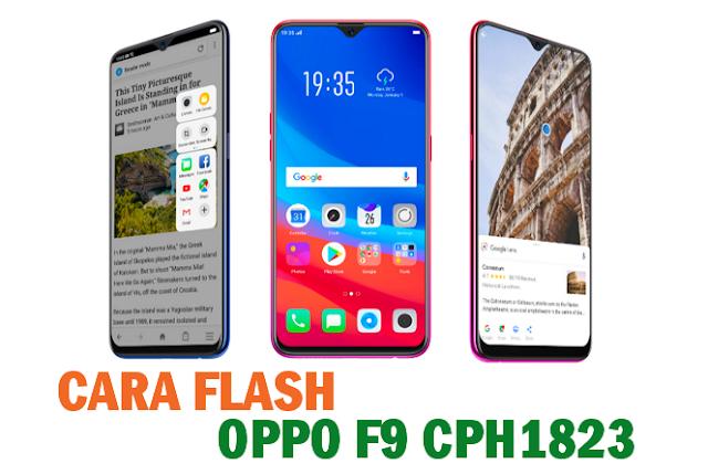 Tutorial Cara Flash Oppo F9 CPH1823 Tanpa PC Menggunakan SD Card