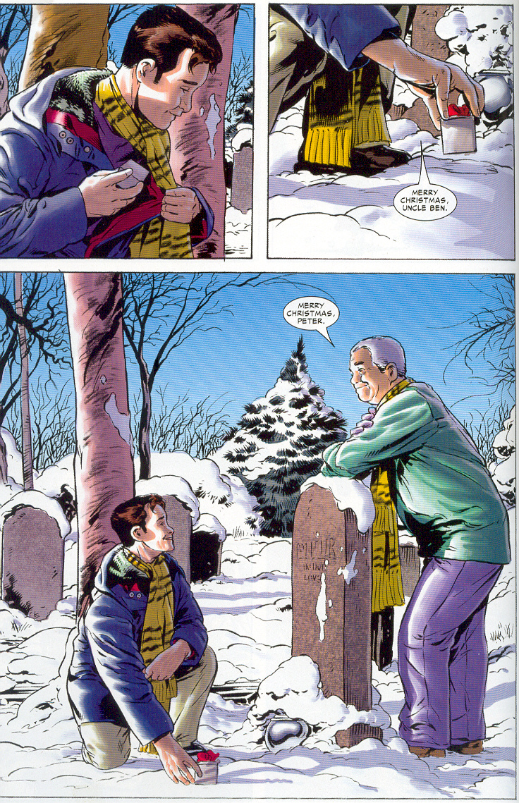 chezkevin: Merry Christmas Uncle Ben: Spectacular Spider-Man #27