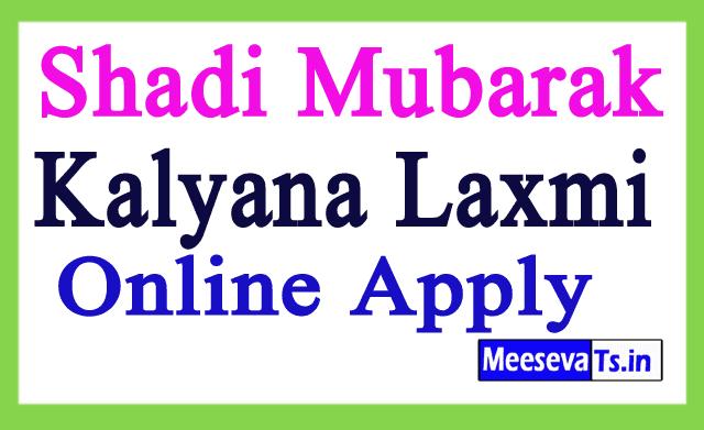 Shadi Mubarak Scheme - Kalyana Laxmi Scheme Application Online Apply Telangana Govt Portal