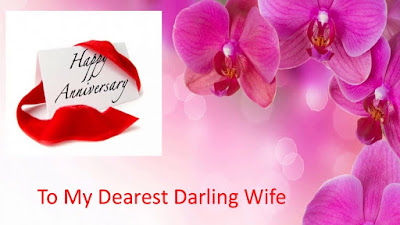 Wedding anniversary messages for wife from husband