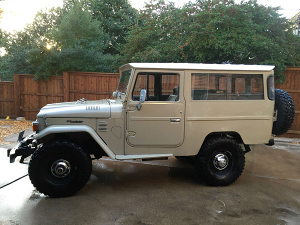Toyota Land Cruiser FJ43 For Sale