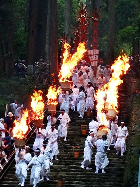 Nachi Fire Festival at Kumano Nachi Grand Shrine, Wakayama Pref.
