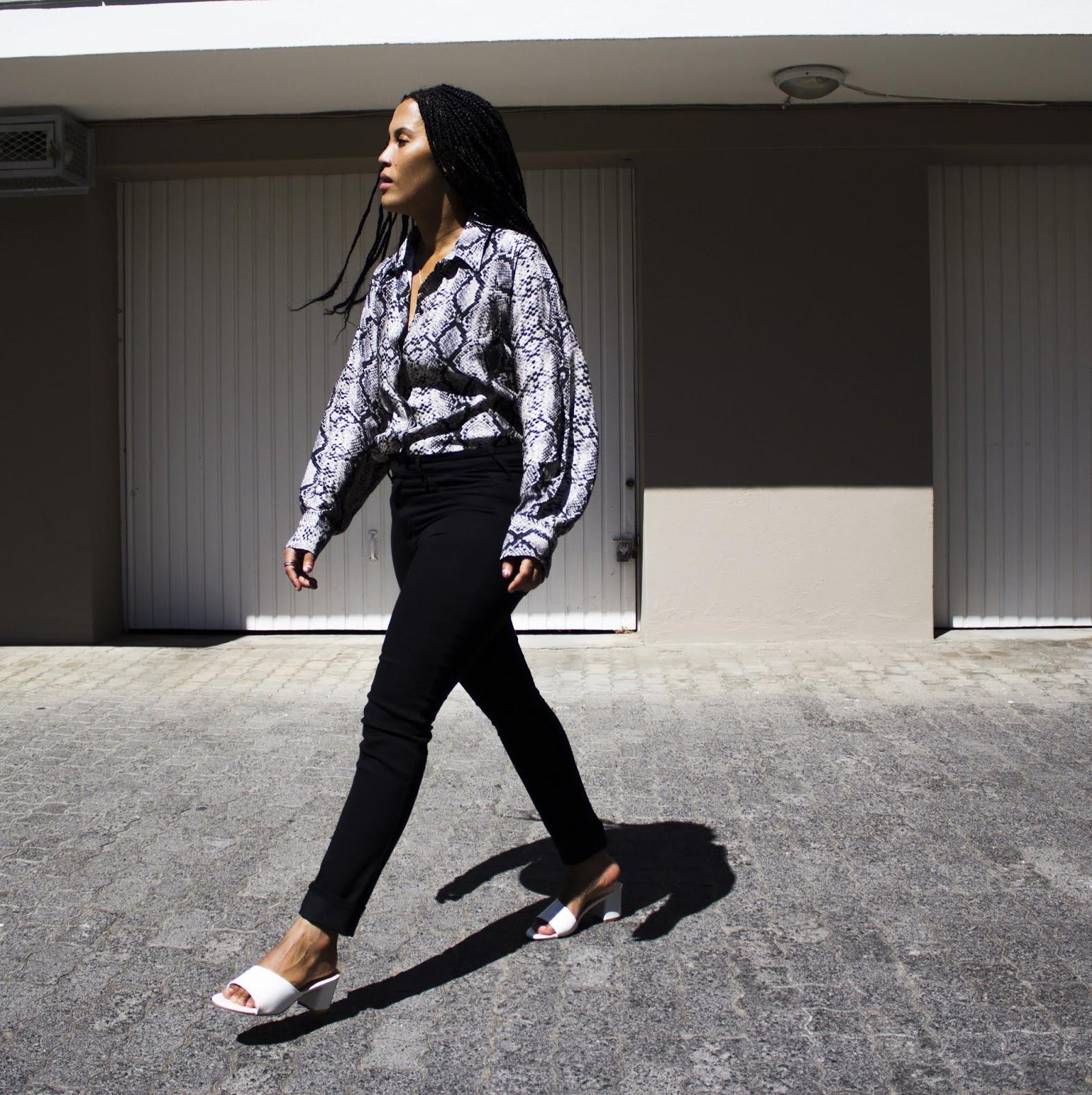 Liezel-Esquire-snakeskin-blouse