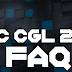 SSC CGL Recruitment Notification 2017 FAQs