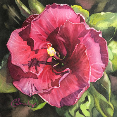 Original Fine Art Watercolor painting by Colleen Sanchez