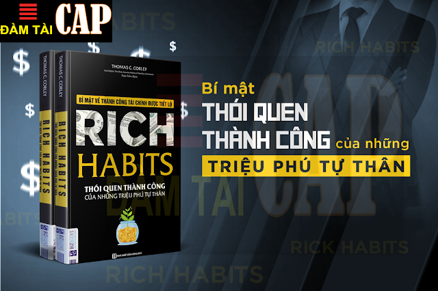 Mindmap - Sách Rich Habit thói quen thành công của những triệu phú tự thân