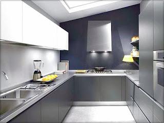 Dapur Rumah Minimalis Ukuran 3 x 3 yang Nyaman dan Bersih