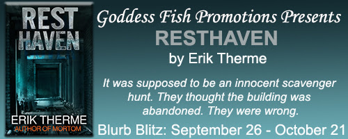RESTHAVEN BY ERIK THERME - BLURB BLITZ & REVIEW + GIVEAWAY