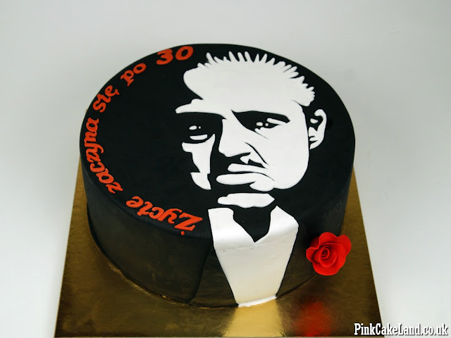 Don Corleone Birthday Cake London