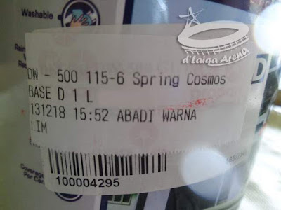 kode warna 115-6 Spring Cosmos