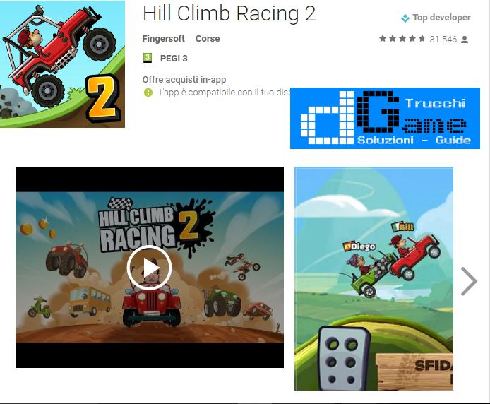 Trucchi Hill Climb Racing 2 Mod Apk Android v0.95.1