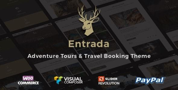 Tour Booking & Adventure Tour WordPress Theme - Entrada