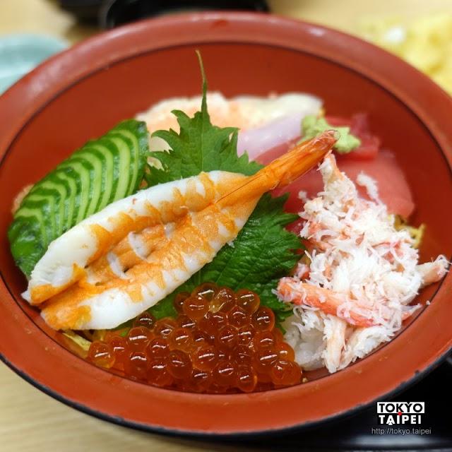 【Ganko壽司】海鮮散壽司新鮮美味 搭配天婦羅和味噌湯