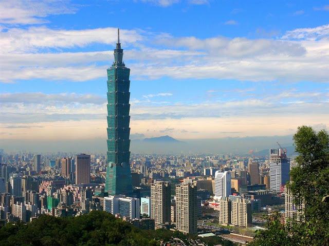 Taipei 101 - 9D7N Explore Taiwan 30 Aug 2018 - Salika Travel