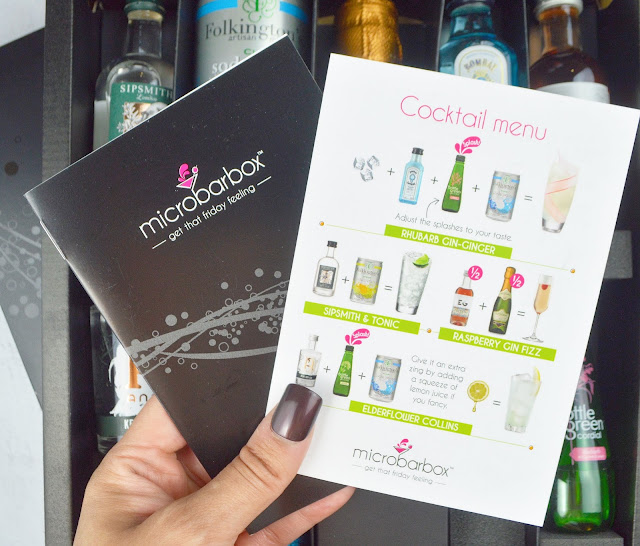 Find Me A Gift Microbarbox Gin & Prosecco Fix Review, Lovelaughslipstick Blog