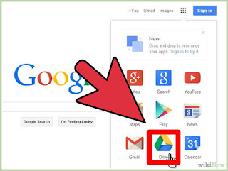 Sign into the Google Drive site with your Google account