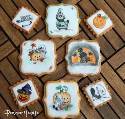 Orange Cinnamon Halloween Cookies