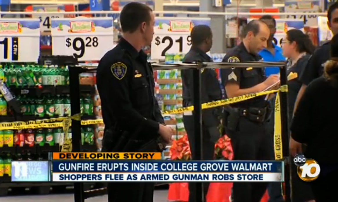 Walmart Shootings: November 2013
