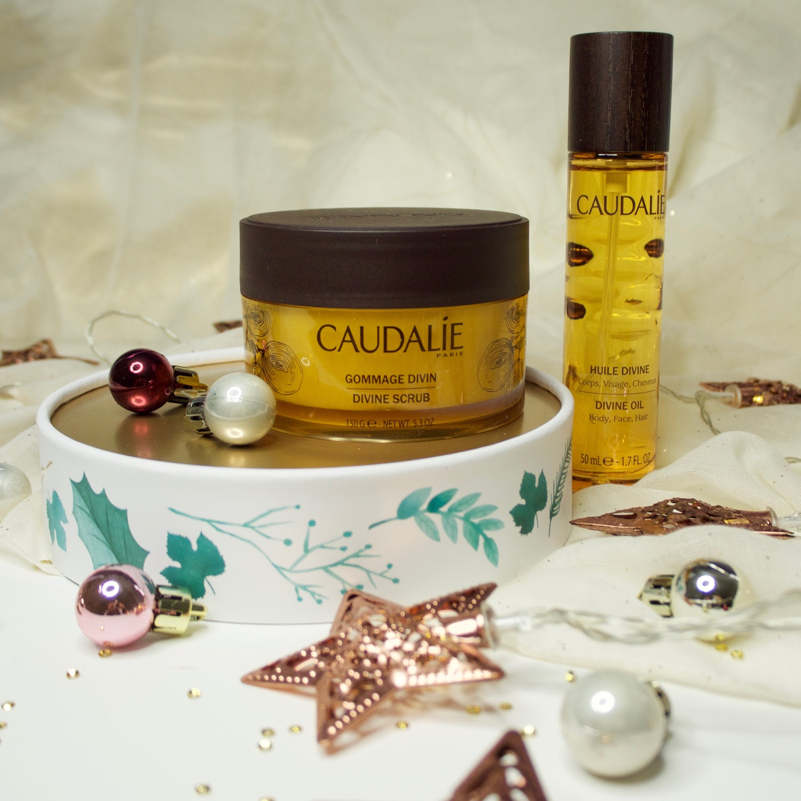 Caudalie Christmas Gifts The Divine Body Collection And French Cream