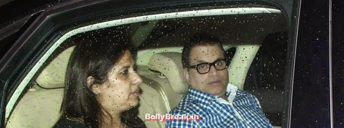Ramesh S. Taurani, Celebs clicked at 'Kick' Special Screening at Yash Raj Studios