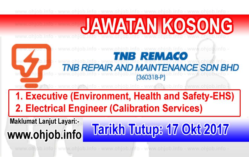 Jawatan Kerja Kosong TNB Repair and Maintenance logo www.ohjob.info oktober 2017
