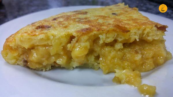 Pincho de tortilla de patatas en Casa Dani