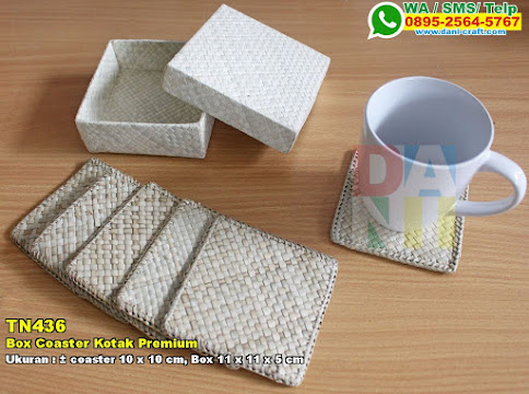 Box Coaster Kotak Premium