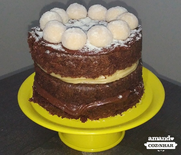 bolo de leite ninho e nutella