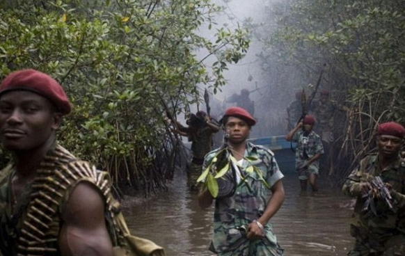 niger delta killed soldiers