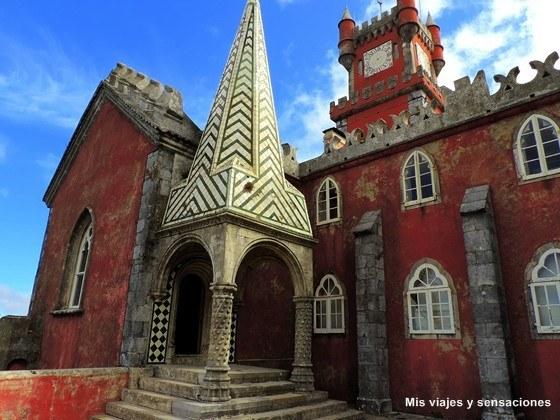 Capilla del Palacio da Pena, Sintra, Portugal