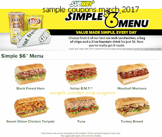 Subway coupons march