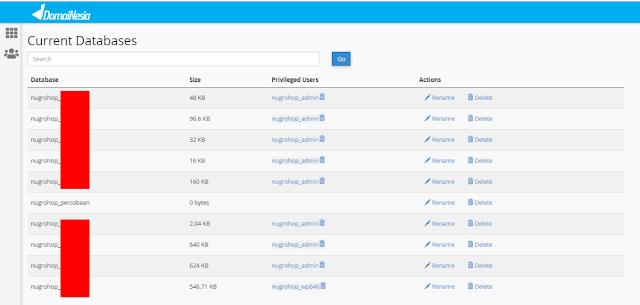 Cara Membuat Database MySQL di Hosting cPanel