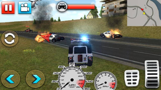 Police Car Smash 2017 Android 1.0 Full