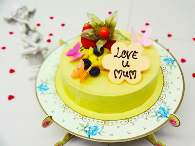 mothers day delights heaven mango almande cake