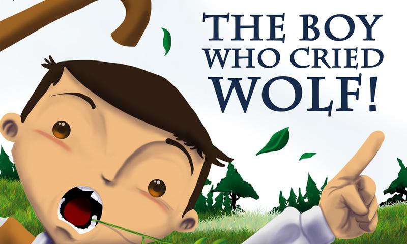 English is FUNtastic: The Boy Who Cried Wolf - video and ...