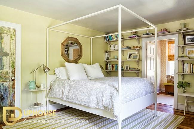 Phòng ngủ màu vàng nhạt 05