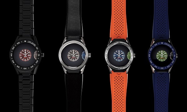 "TAG Heuer Connected Modular 45 smartwatch with 1.39"" AMOLED touchscreen display, Intel Atom Z34XX processor and Android Wear 2.0 announced"