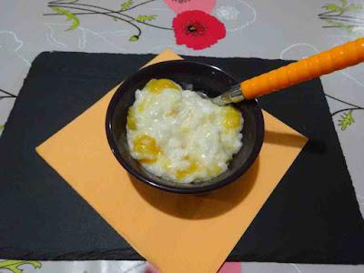 riz au lait de coco abricots miel