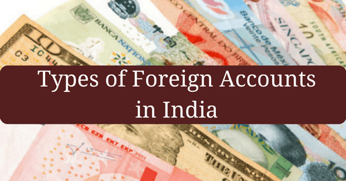 Types Of Foreign Accounts In India Bank Exams Today