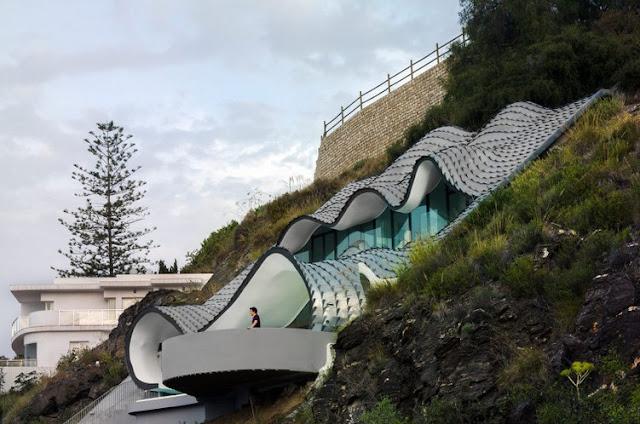Noir blanc un style - La maison wicklow hills par odos architects ...