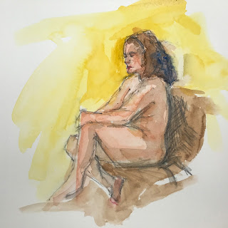 figure study, watercolor sketch, sketch group image