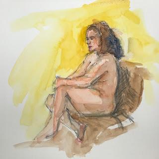 figure study, watercolor sketch, sketch group image