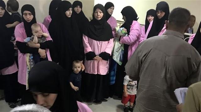 Iraq court gives life to 19 Russian women over Daesh Takfiri terrorist group membership